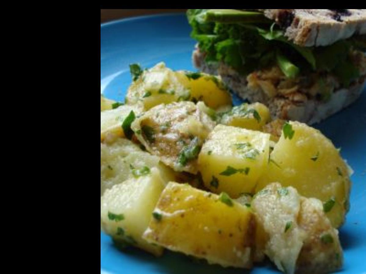 Potato Salad with Mustard Vinaigrette Healthy Recipe