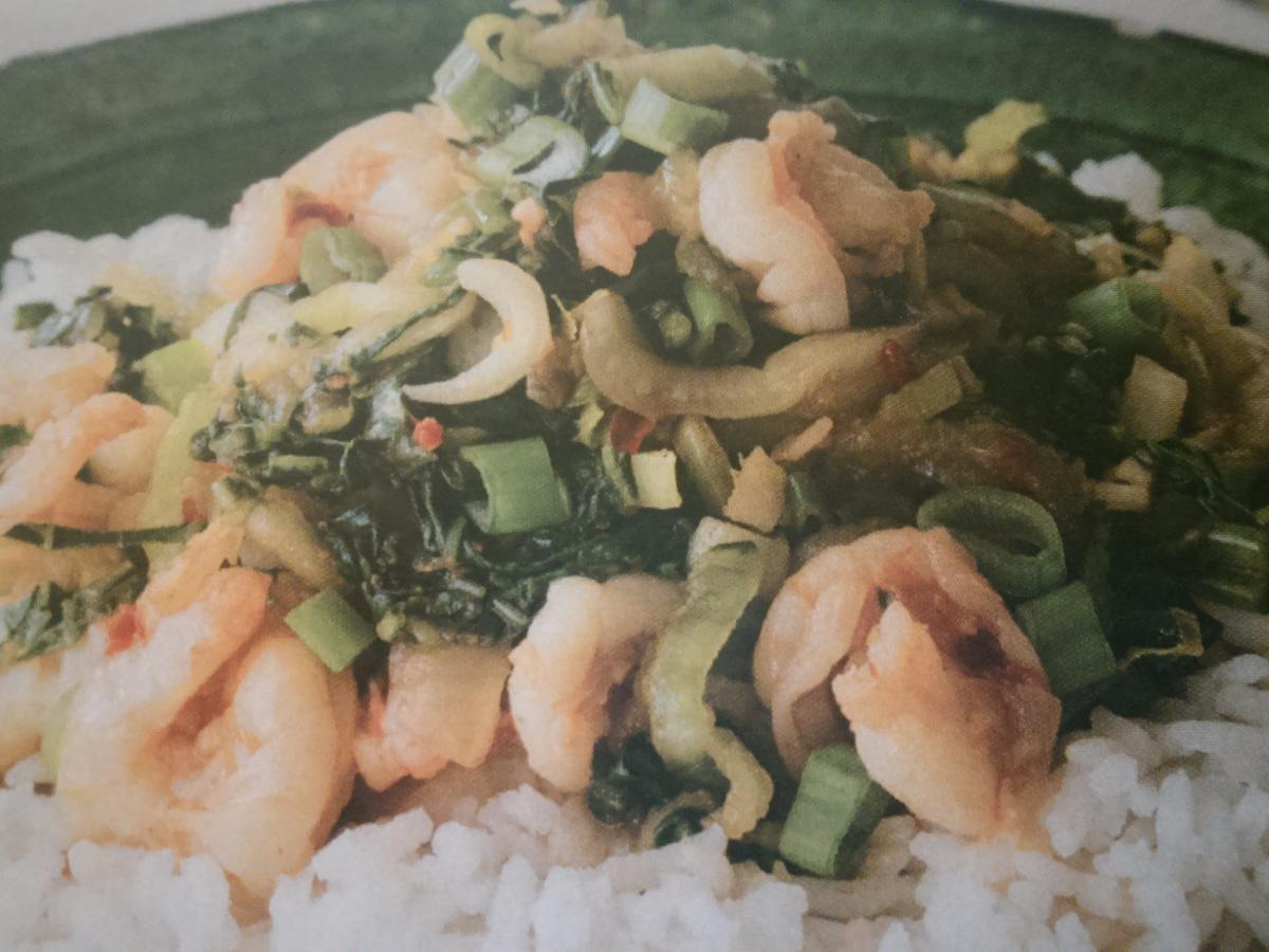 Prawn with Pak Choi & Basmati Healthy Recipe