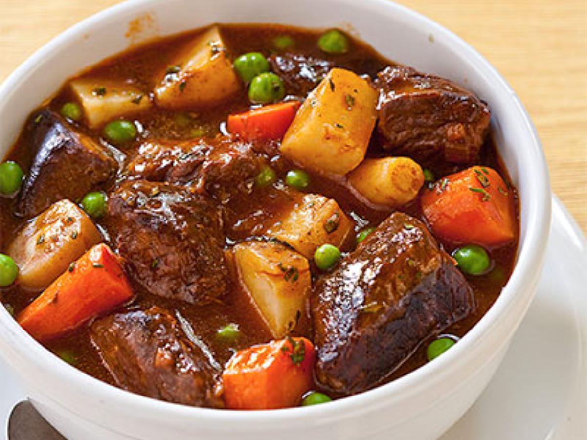 Pressure Cooker Beef Stew Healthy Recipe