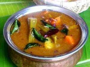 Pressure Cooker South Indian Sambar Healthy Recipe