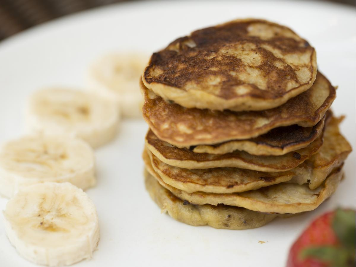 Protein Banana Egg Pancakes Healthy Recipe