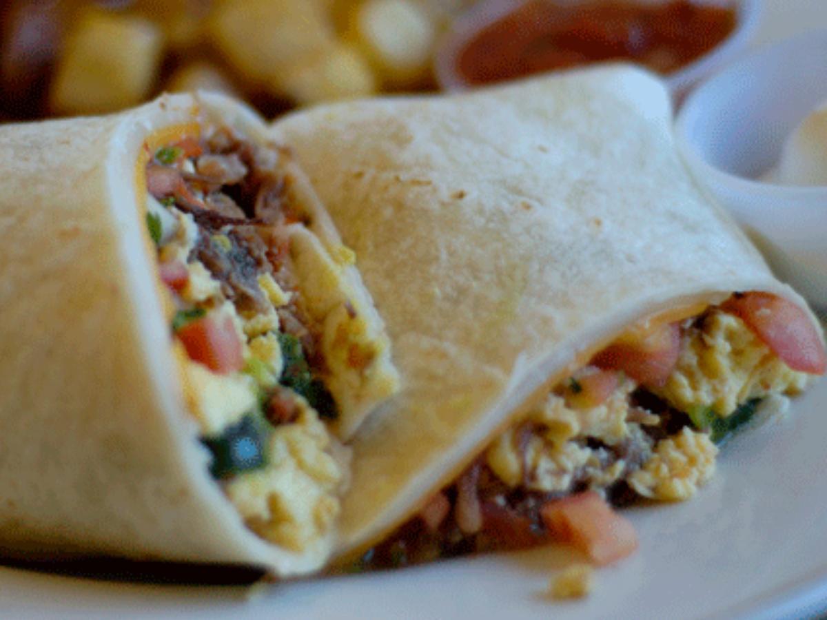 Protein Breakfast Burrito Healthy Recipe