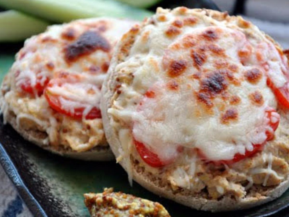 Protein Packed Tuna Melt Healthy Recipe
