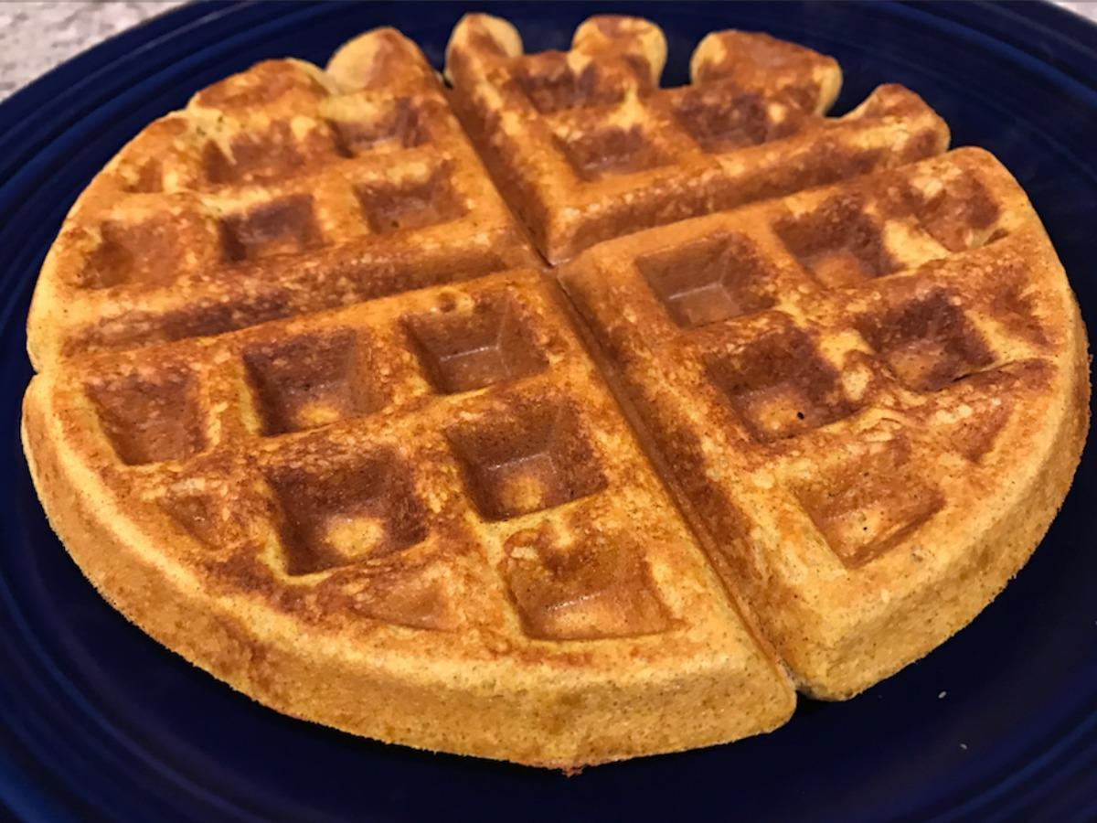 Protein Waffles Healthy Recipe