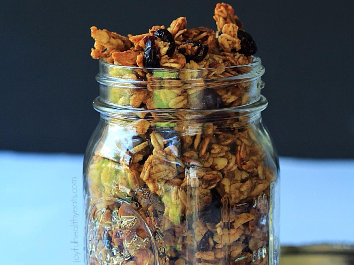 Pumpkin Granola Healthy Recipe