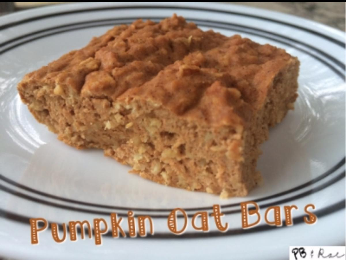 Pumpkin Oat Bars Healthy Recipe