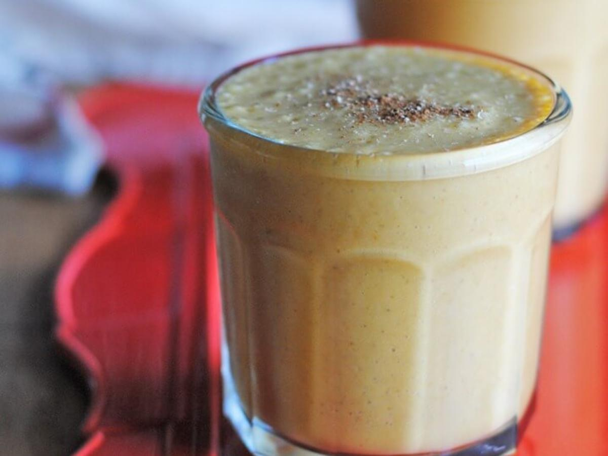 Pumpkin Pie Paleo Smoothie Healthy Recipe