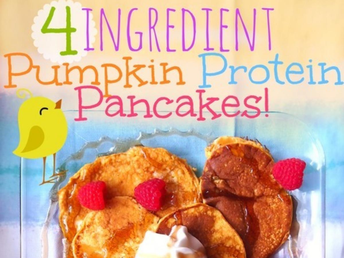 Pumpkin Protein Pancakes Healthy Recipe