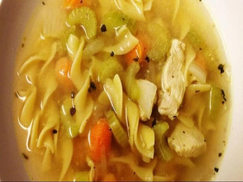 Quick and Easy Chicken Noodle Soup   Healthy Recipe
