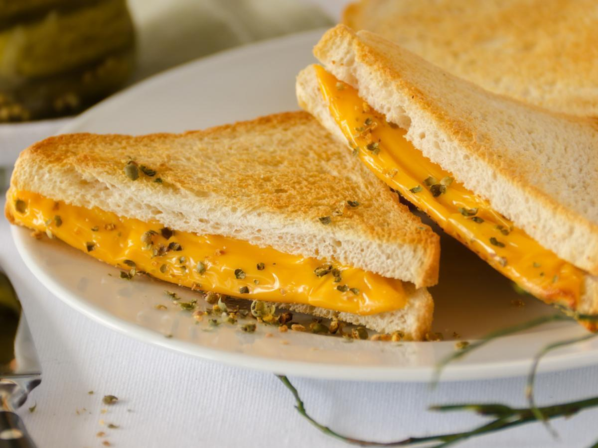 Quick and Easy Grilled Cheese Healthy Recipe