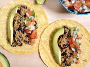 Quinoa Black Bean Tacos Healthy Recipe