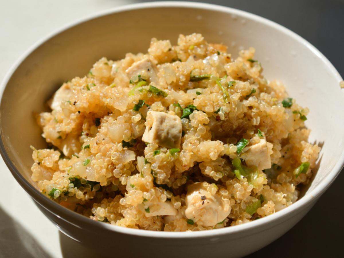 Quinoa Risotto Healthy Recipe