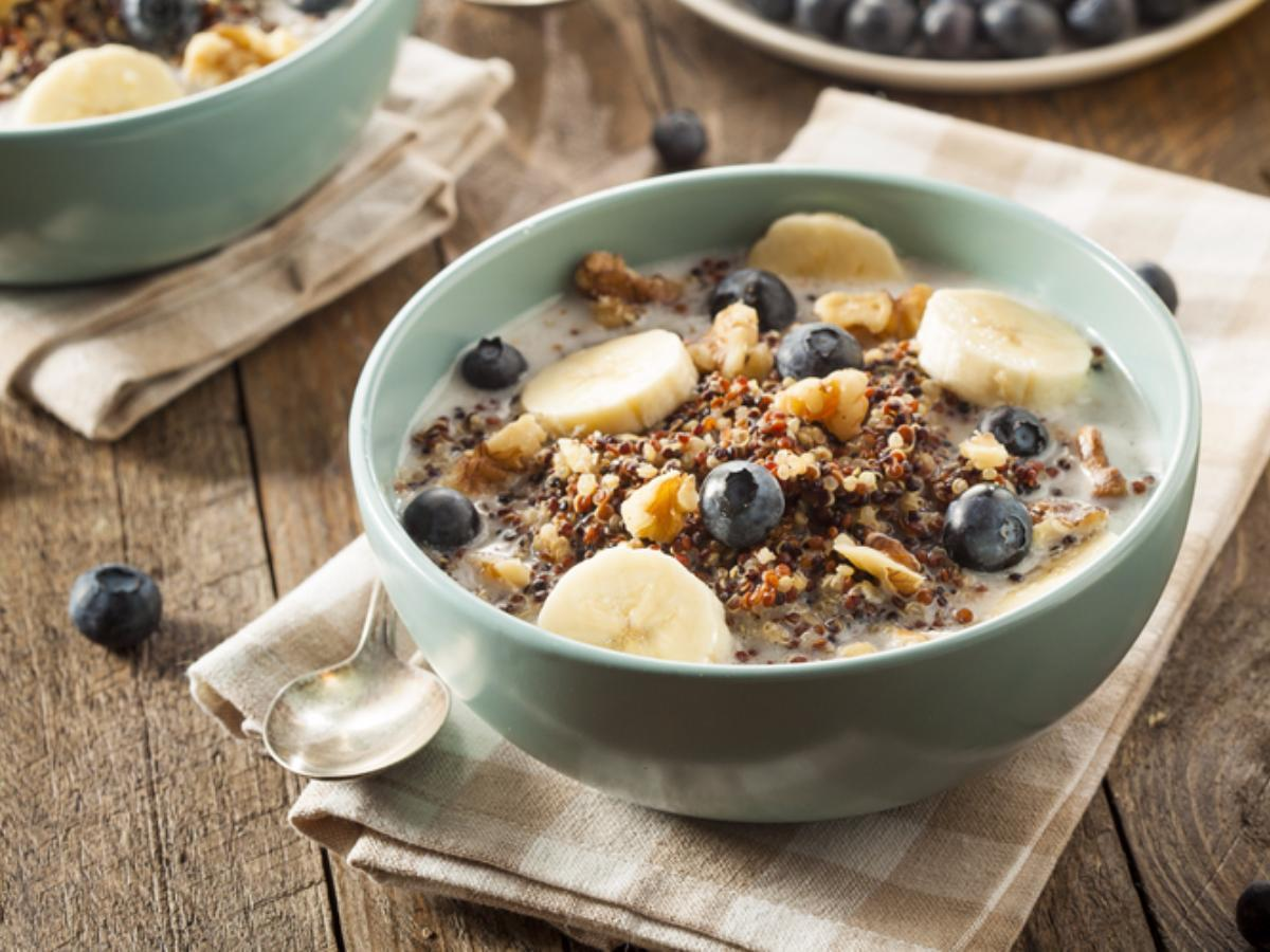 Quinoa Superfood Breakfast Bowl Healthy Recipe