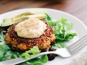 Quinoa Veggie Burgers Healthy Recipe