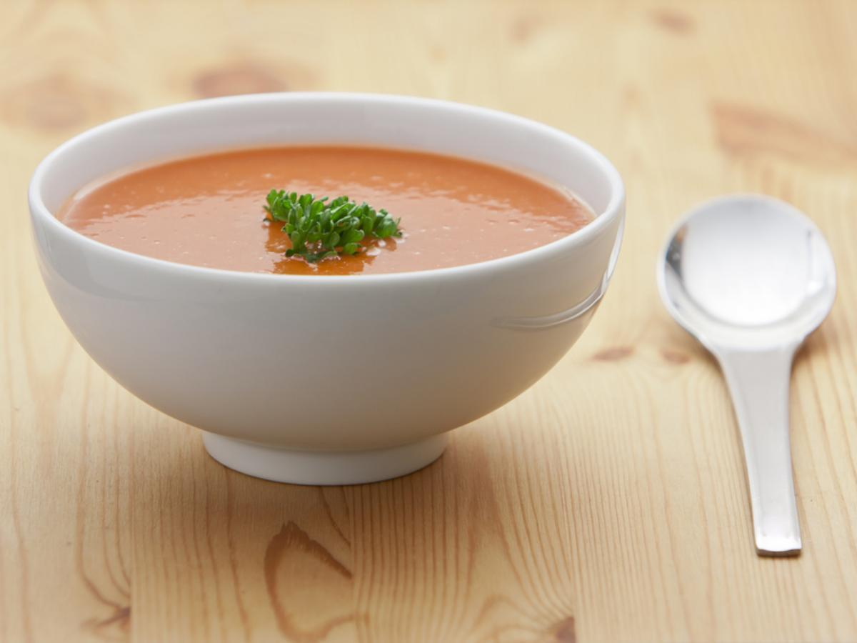 Rainy Day Vegan Tomato Soup Healthy Recipe