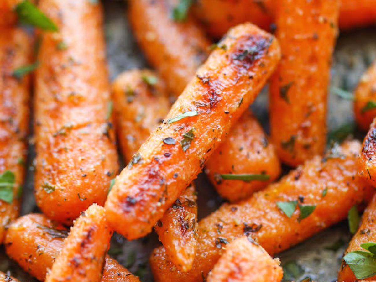 Ranch Baby Carrots Healthy Recipe