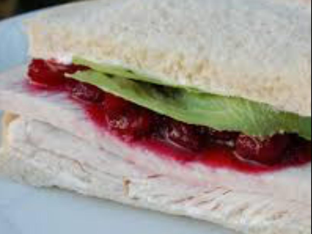 Raspberry Cream Cheese and Turkey Sandwich Healthy Recipe