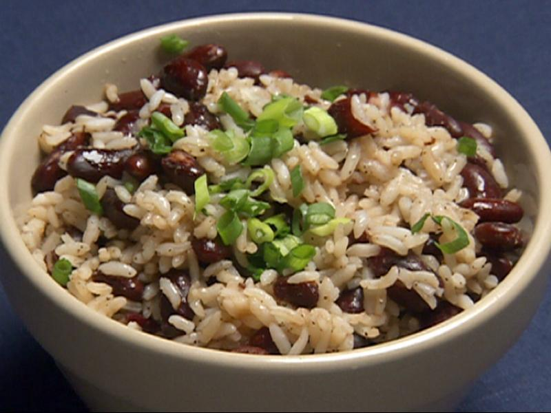 Rice and Beans Healthy Recipe