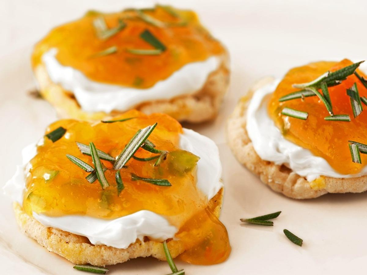 Rice Cake with Dried Apricot and Ricotta  Healthy Recipe