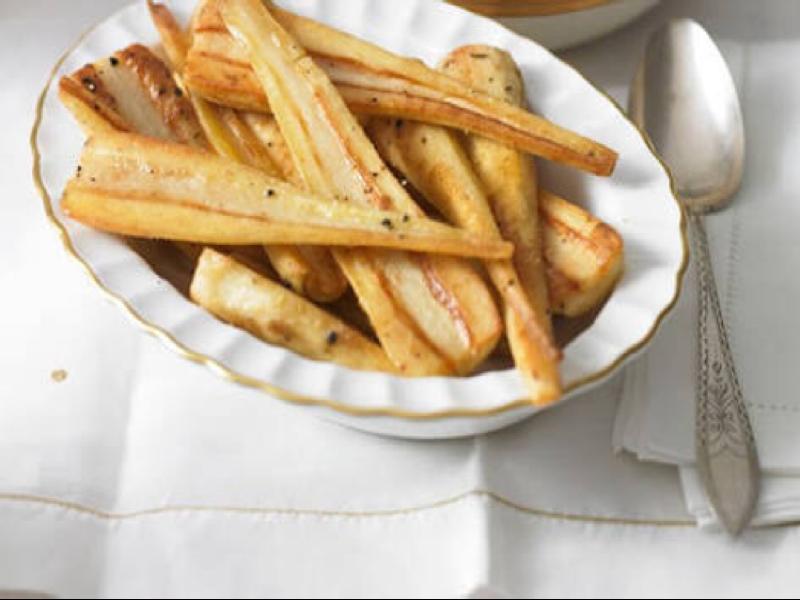 Roast Parsnips Healthy Recipe