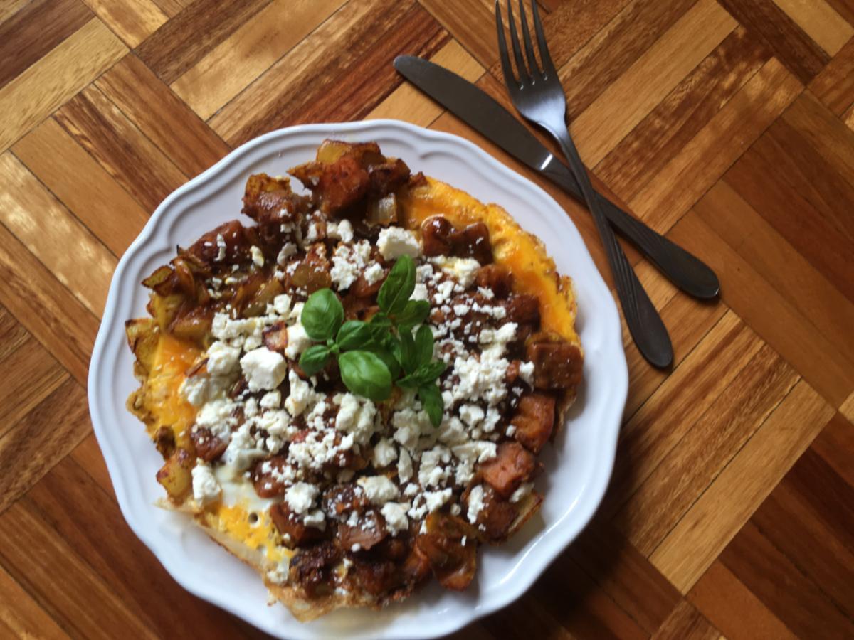 Roast Pumpkin Frittata Healthy Recipe