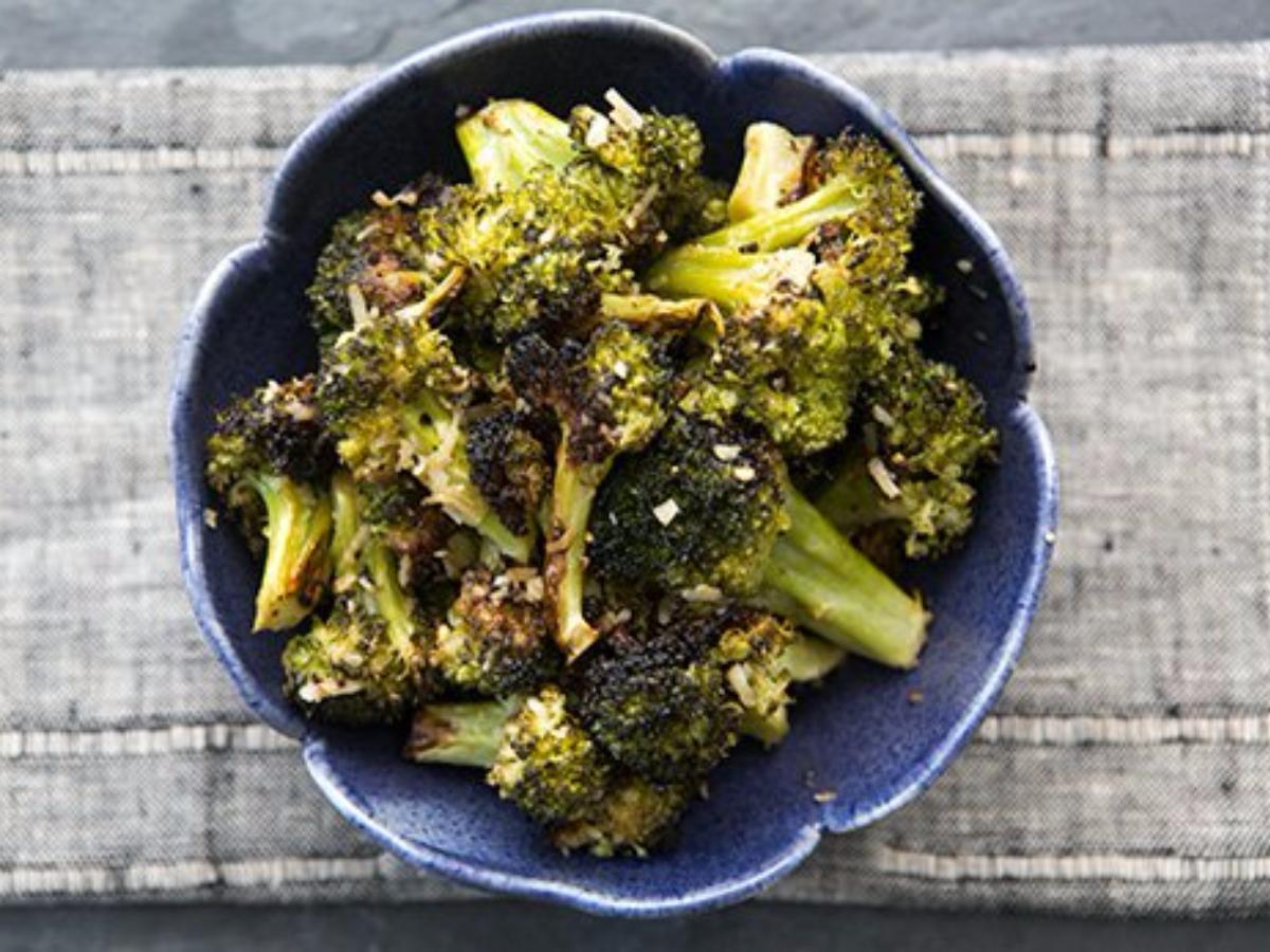 Roasted Broccoli Healthy Recipe