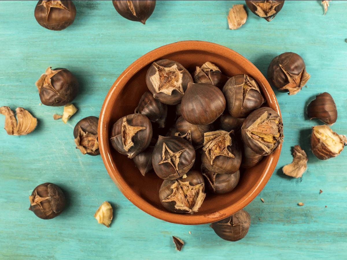 Roasted Chestnuts Healthy Recipe