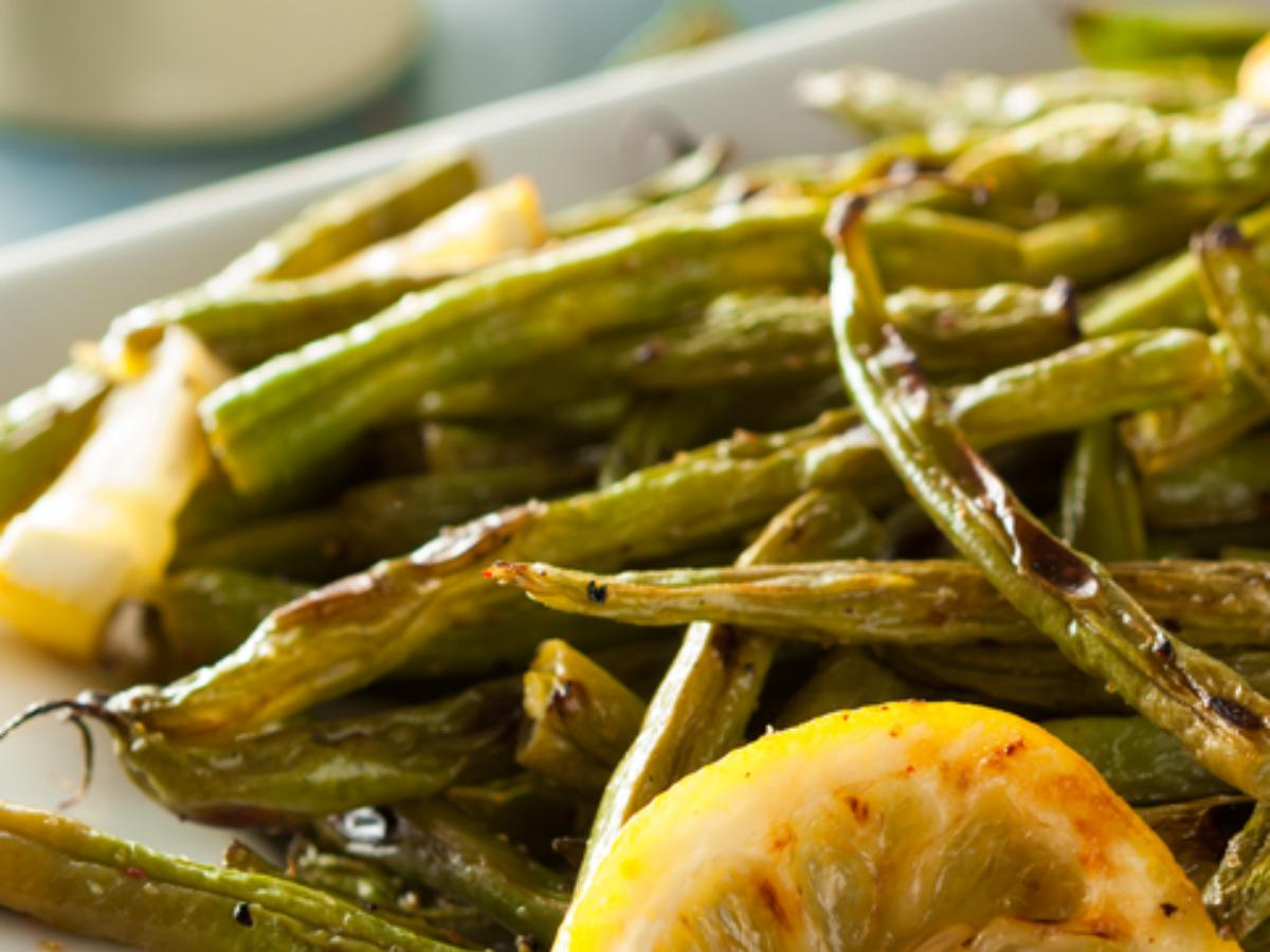 Roasted Green Beans Healthy Recipe