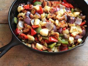 Roasted Kielbasa & Potatoes Healthy Recipe