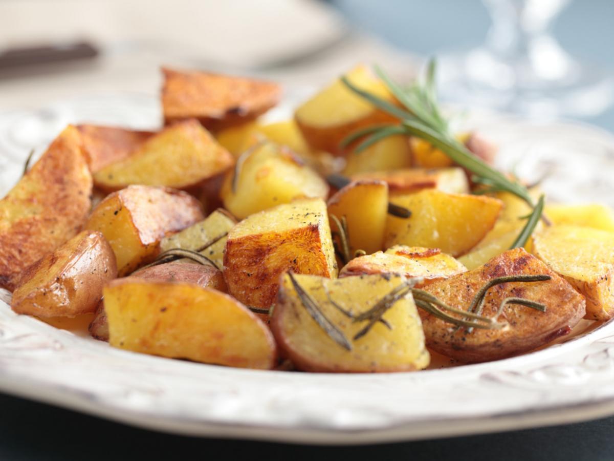Roasted New Potatoes Healthy Recipe