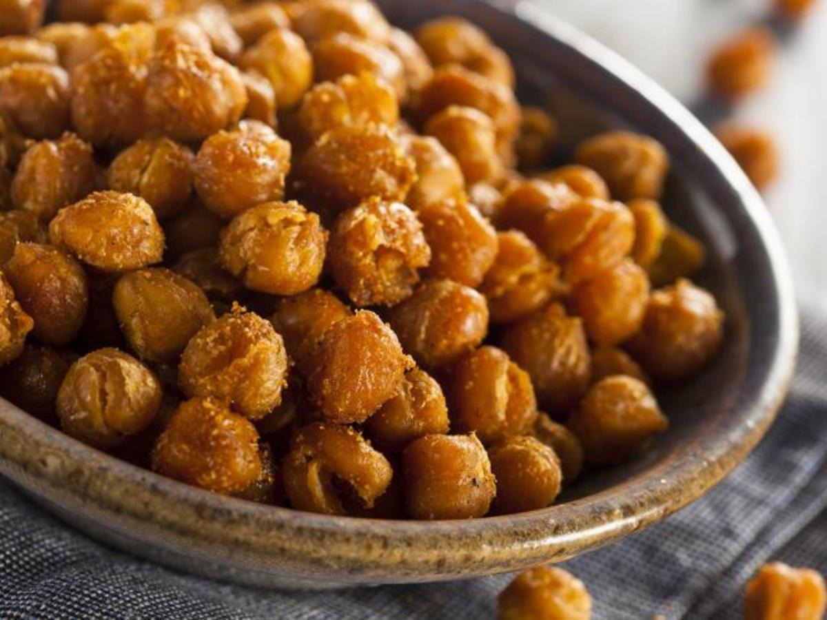 Roasted Paprika and Garlic Chickpeas Healthy Recipe