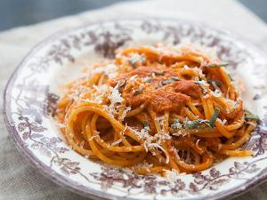Roasted Red Pepper Pasta Sauce Healthy Recipe