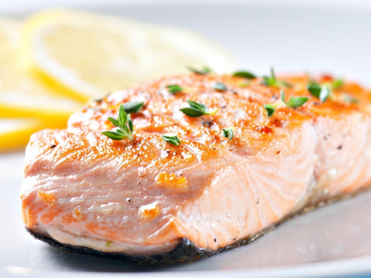 Roasted Salmon Healthy Recipe