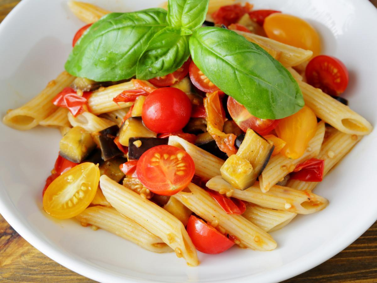 Roasted Vegetable Pasta Healthy Recipe