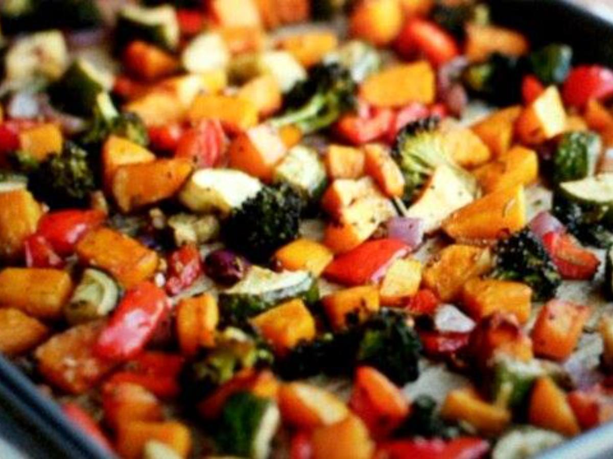Roasted Veggies Healthy Recipe