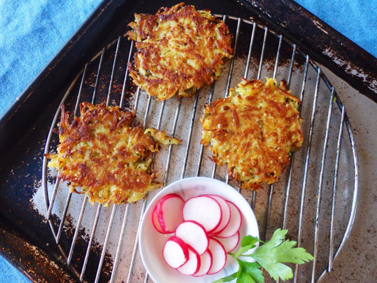 Rutabaga Latkes Healthy Recipe