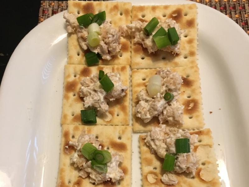 Salmon Crackers Healthy Recipe