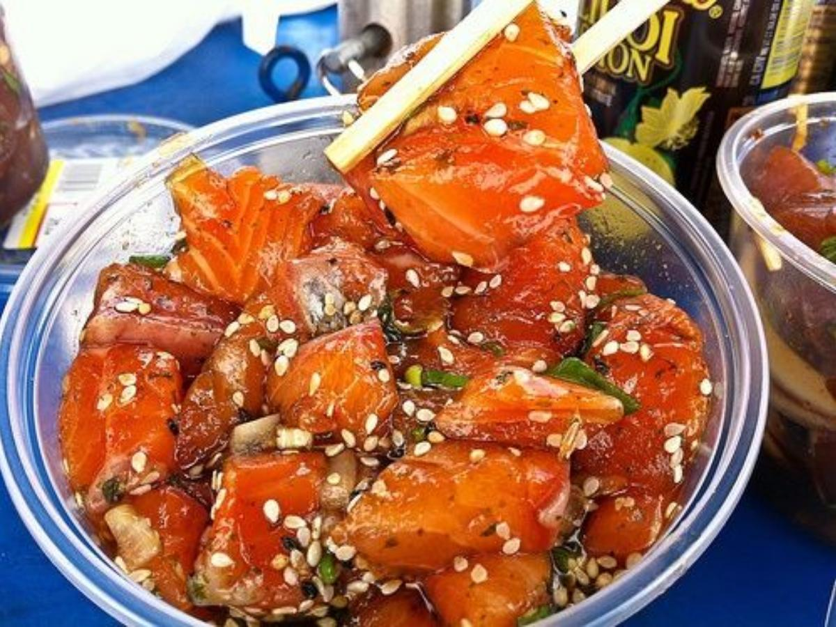 Salmon Shoyu Poke Healthy Recipe