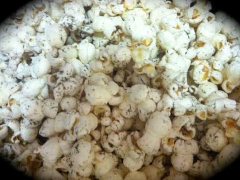 Salt & Vinegar Popcorn Healthy Recipe