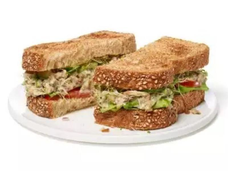 Sardine Salad Sandwich Healthy Recipe
