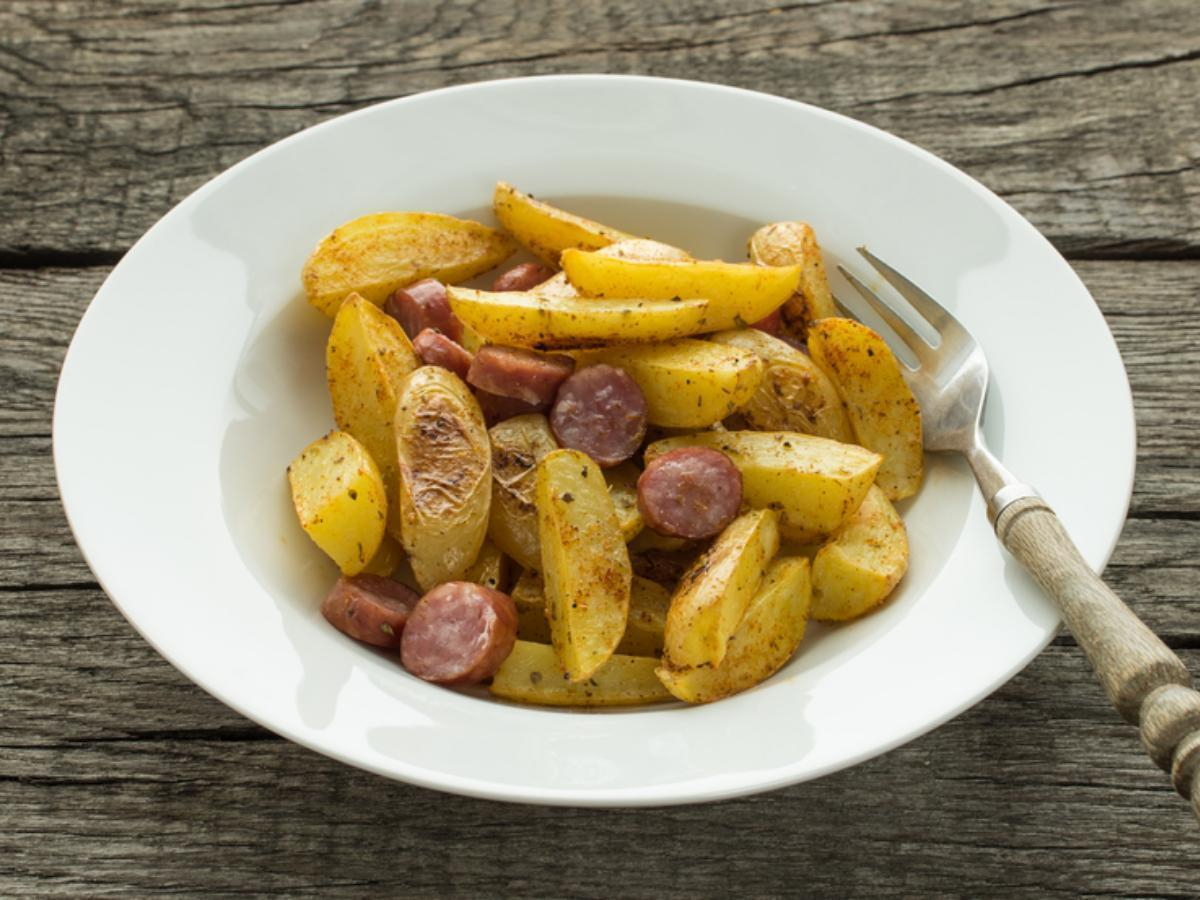Sausage and Potatoes Healthy Recipe