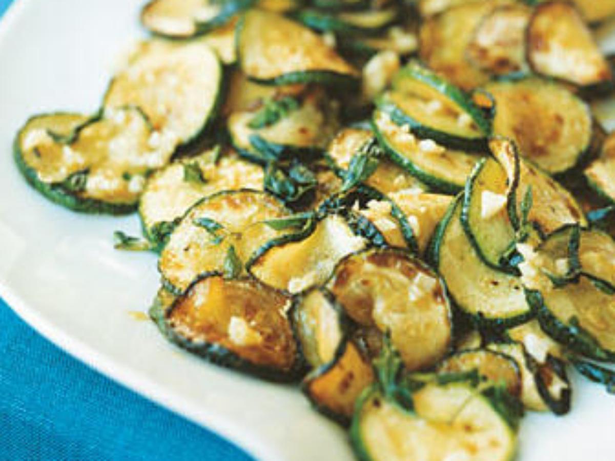 Sautéed Zucchini Healthy Recipe