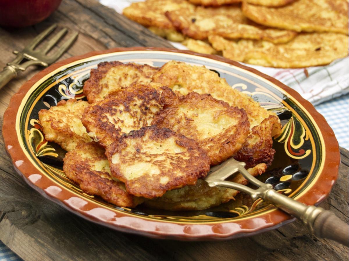 Savory Apple Potato Pancakes Healthy Recipe