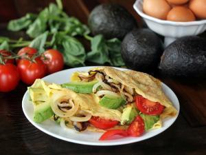 Savory Crêpes Healthy Recipe
