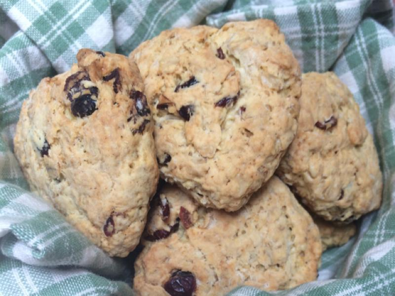 Scottish Oat Scones Healthy Recipe