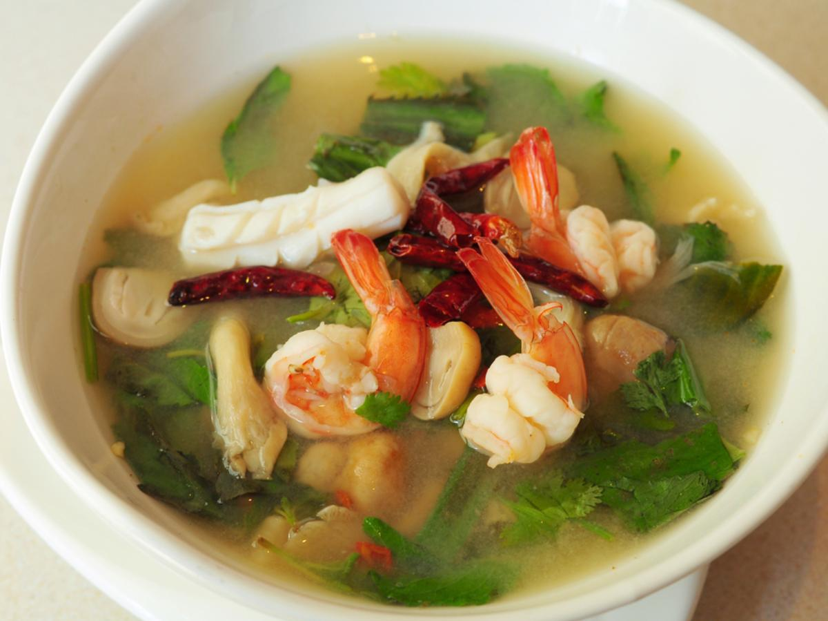 Seafood Soup Healthy Recipe