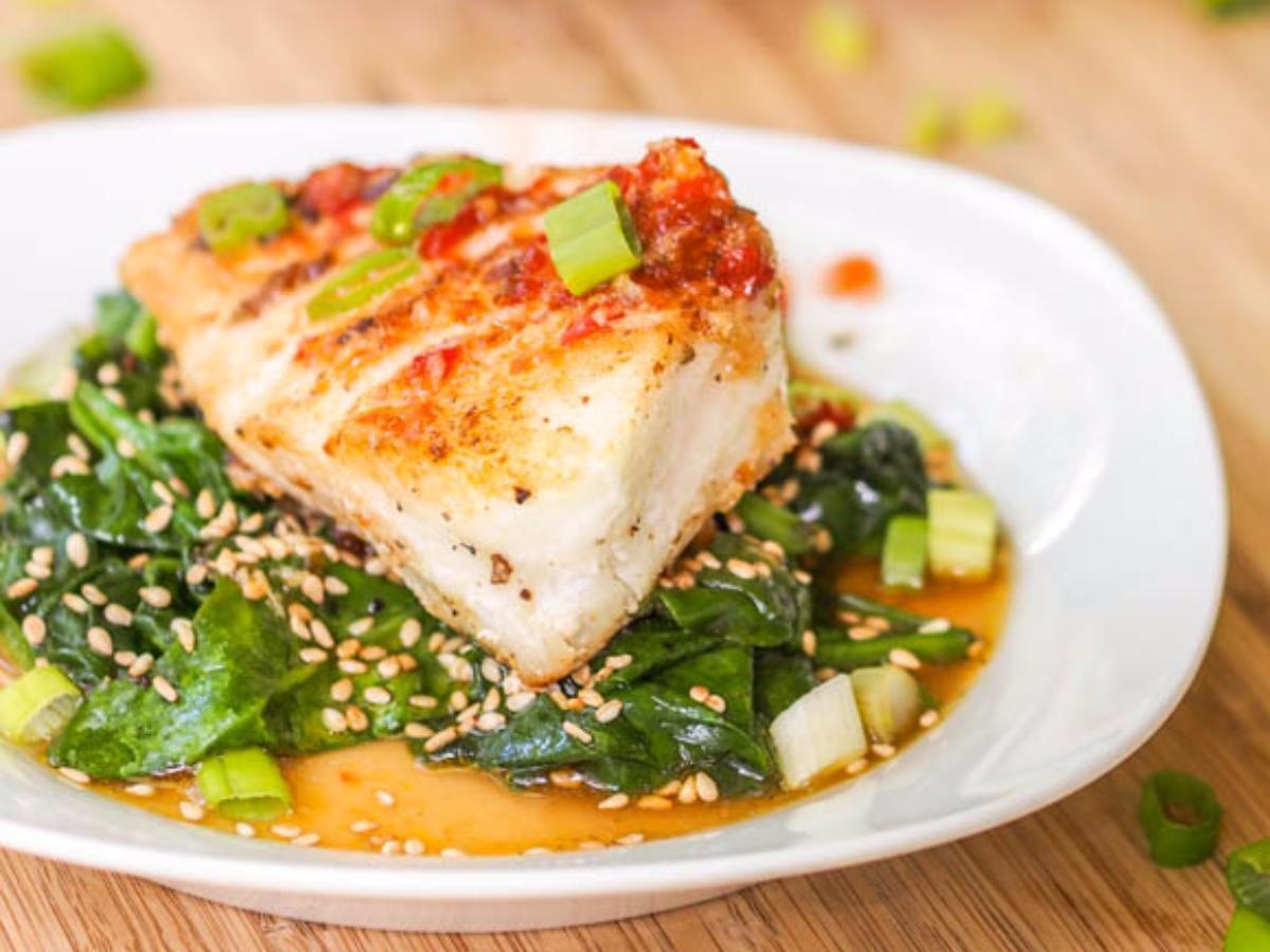 Seared Chilean Sea Bass Healthy Recipe