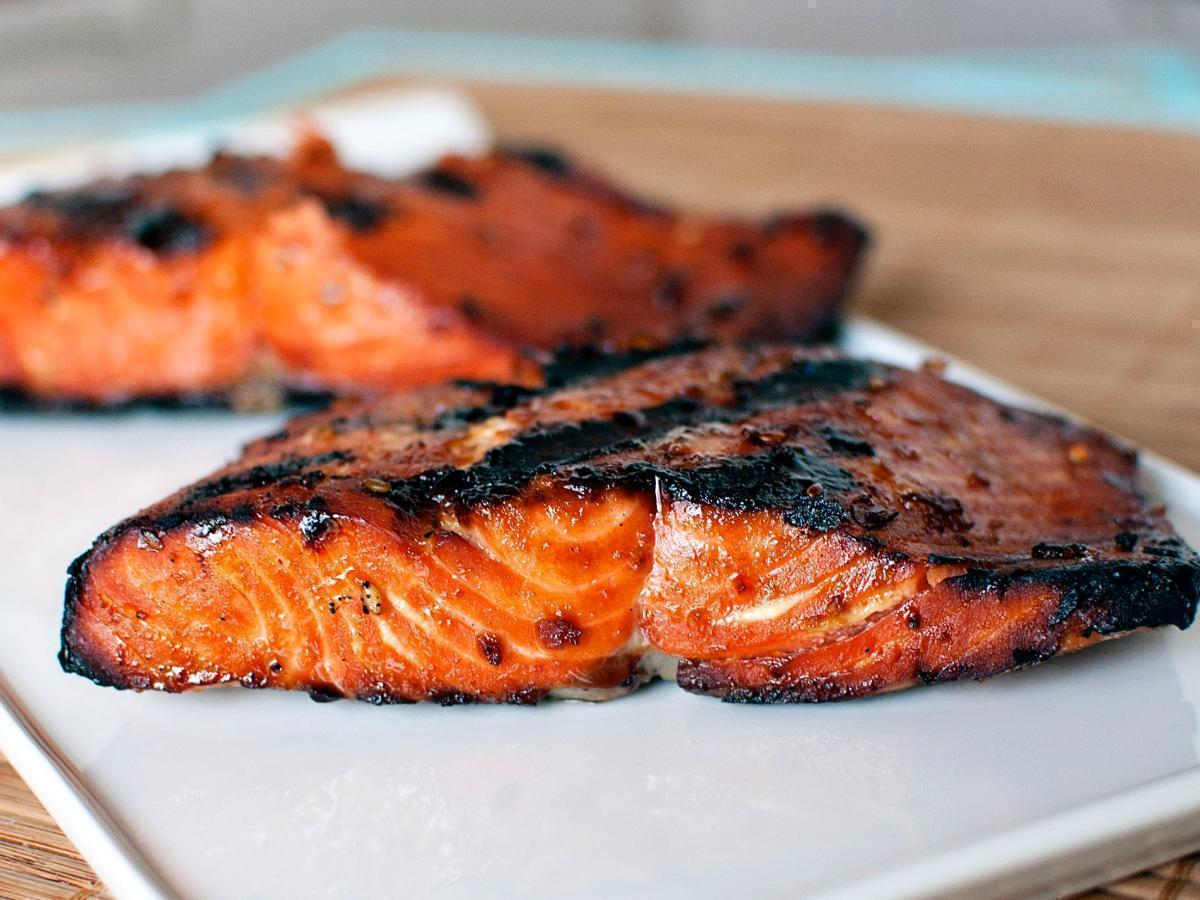 Sesame and Soy Grilled Salmon Healthy Recipe
