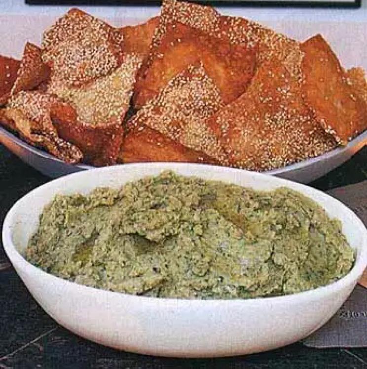 Sesame Wonton Crisps Healthy Recipe