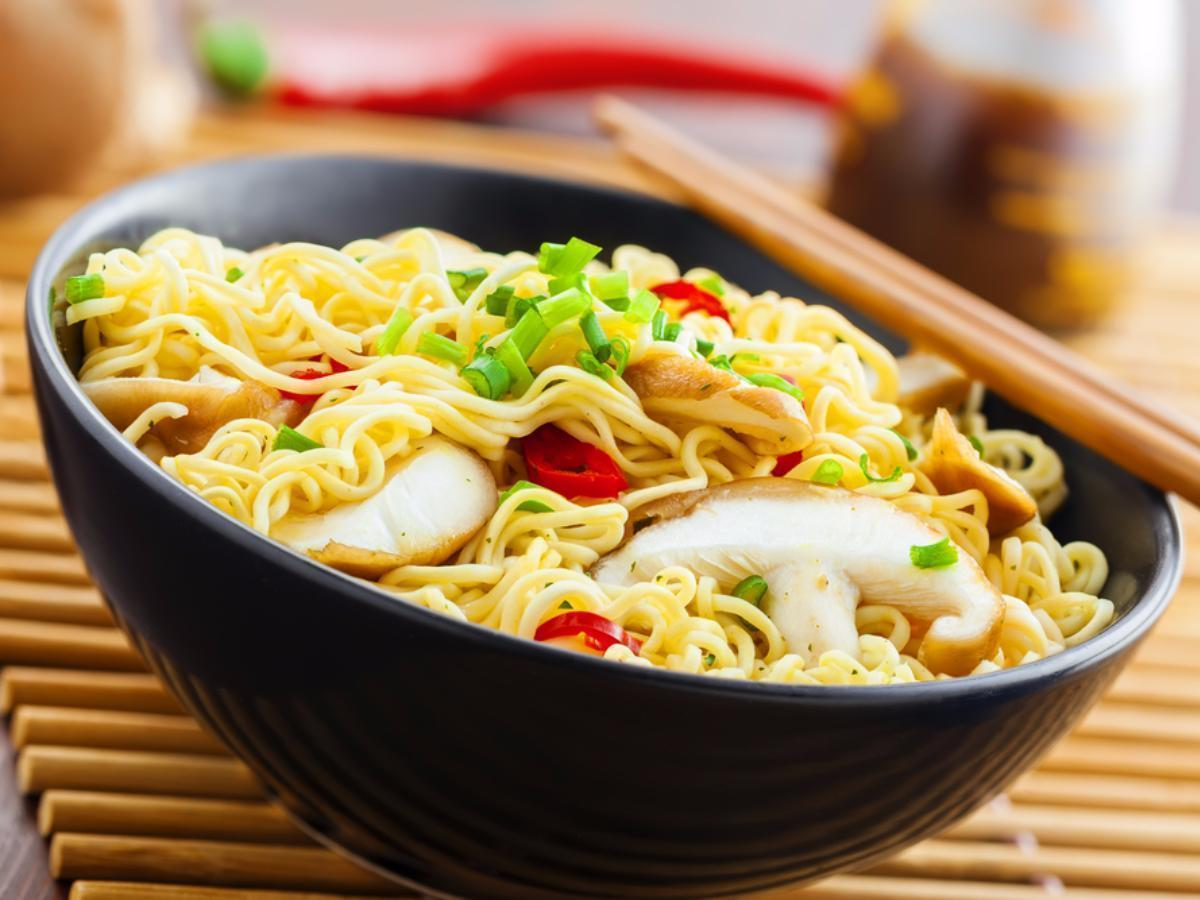 Shiitake and Scallion Ramen Healthy Recipe